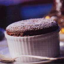 Godiva's Bittersweet Chocolate Souffles Recipe