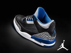 06c98eba8e2f Sport Blue Air Jordan 3 Air Jordan Iii
