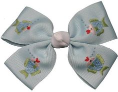 fish bow, girl bow, elegant monograms, summer bow, Rosalina fish bow, Rosalina girl bow #elegantmonograms Harper Lee, Fisher, Hair Bows, Embroidery Designs, Baby Shoes, Elegant, Monograms, Summer, Ribbon Hair Ties