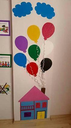 Bild – Frühkindliche Bildung – Aluno On – TB Giphdom Kids Crafts, Preschool Activities, Diy And Crafts, Paper Crafts, Classroom Displays, Classroom Decor, Decoration Creche, Birthday Charts, School Decorations