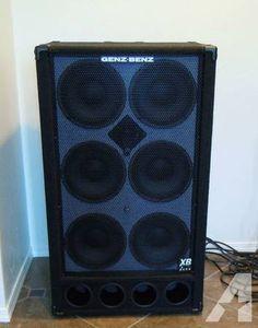Genz Benz 610 Bass Guitar Speaker Cabinet Like New - $600