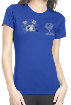 Ladies' Projector T shirt by ClosetOfMysteries on Etsy, $18.00