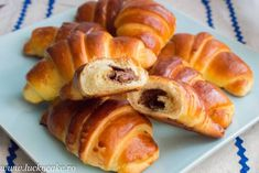 Briose si Fursecuri Archives - Page 2 of 9 - Lucky Cake Lucky Cake, Romanian Food, Romanian Recipes, Croissant, Pretzel Bites, Nutella, Sushi, Sausage, Gluten