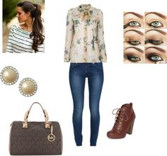 """""""fall outfit #1"""" by leah146 on Polyvore"""