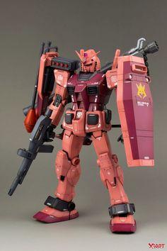 GUNDAM GUY: MG 1/100 RX-78/C.A. Char Aznable's Customized Gundam - Custom Build