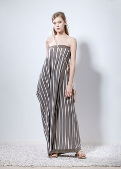 Ioanna Kourbela - 2016 Lookbook - XAMAM - Philosophy to Wear Ss16, Striped Pants, Everyday Fashion, Chic, Stylish, Leoni, How To Wear, Clothes, Collection