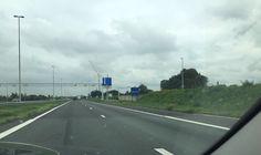 Heute in Holland angekommen und morgen geht's nach Amsterdam zum Stoffmarkt!