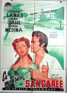 LA MANSION DE SANGAREE   53  FERNADO LAMAS     ARLENE DHAL / FOLLETOS DE CINE
