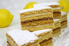 Honey Layer Cake (prajitura cu foi de miere) ~ via Gabriela Cuisine Romanian Food, Romanian Recipes, Food Cakes, Homemade Cakes, Vanilla Cake, Cake Recipes, Deserts, Food And Drink, Cooking Recipes
