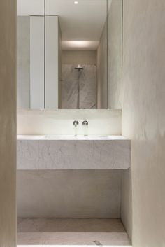 TRIBECA LOFT by Dieter Vander Velpen architects - stone by Il Granito natuursteen - walls by Mortex