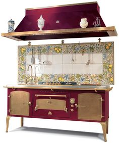 Antique appliances by Restart Srl - modern technology in classic Italian. I've decided it's time to move so that we may have a gas stove once again. Gas cooking is reason enough to move right, not only the aesthetics of the appliances?