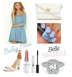 """""""Baby Blue Design"""" by itssasia on Polyvore featuring Red Herring and Rodin"""