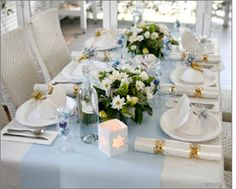 Décoration pour table #Table Noël