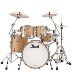 Pearl RFP Reference Pure Low-Mas EvenPly Maple, Birch, and African Mahogany Standard Shell Pack