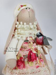 Купить Заяц Тильда Розалинда - тильда, кукла ручной работы, кукла Тильда, куклы и игрушки