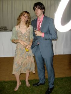 Neville and Hermoine. Apparently before the hormones kicked in.