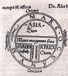 Medieval world map