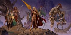 Will Stringer uploaded this image to 'Fantasy Art/Clyde Caldwell'. See the album on Photobucket. Dream Fantasy, Fantasy Art, Character Aesthetic, Character Art, Dungeons And Dragons Art, Pop Culture Art, Sci Fi Horror, Sword And Sorcery, Science Fiction Art