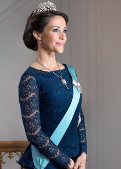 New Official Photos of Princess Marie of Denmark and Prince Joachim of Denmark