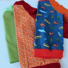 Free Toddler sized raglan t-shirt pattern