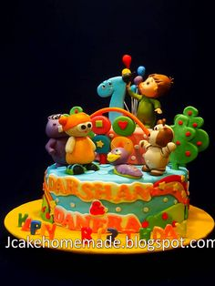 BabyTV birthday cake