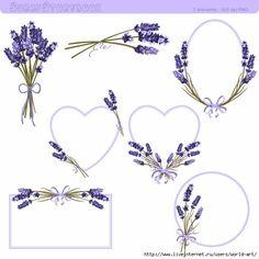 Lavender_flower_clipart (595x595, 138Kb)