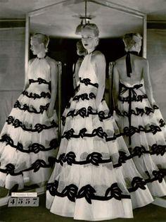 Modelo de la colección de Madame Vionnet para el invierno de 1938