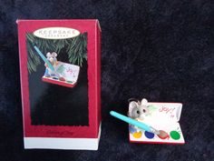 "1994 HALLMARK KEEPSAKE CHRISTMAS ORNAMENT ""Colors of Joy"""