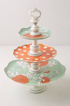 Patisserie Cake Stand - anthropologie.com