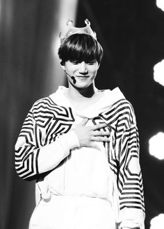 """Exo - Kai """"Have I touched your heart. Does that mean.. WE ARE GOING TO BE TOGETHER FOREVER!?? YESSSS!"""""""