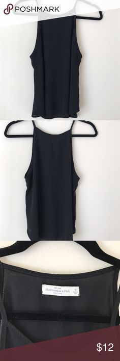 Spaghetti Straps Basic Cami A&F basic cami // soft against skin // loose fit // wear it alone or for layering // polyester // excellent condition Abercrombie & Fitch Tops Camisoles
