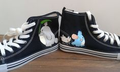 7f95f62c92 10 pairs of adorable custom-painted wedding shoes. TotoroCustom ConverseVans  Sk8Offbeat ...