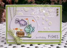 Totally Fun card by Mandy for the Simon Says Stamp Wednesday challenge (Anything Goes)
