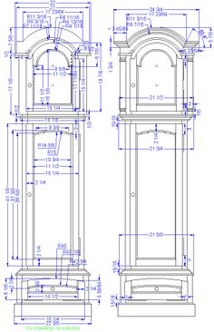 Grandfather Clock Plans Google Search Daddy S Favorite