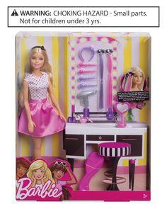 Barbie Doll & Hair Playset, Little Girls (2-6X) & Big Girls (7-16)