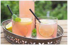Rhabarber-Limonade: fruchtige Frische im Frühling