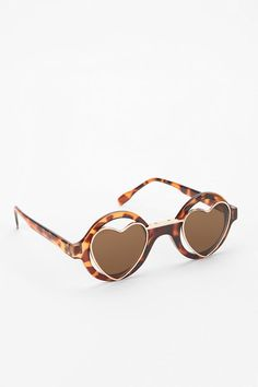 Heart it! Two Hearts Sunglasses #urbanoutfitters