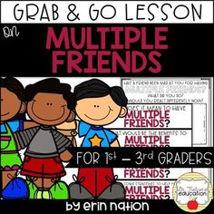 A classroom lesson on friendship skills with Multiple Friends Elementary School Counselor, School Counseling, Elementary Schools, Guidance Lessons, A Classroom, Love My Job, Lesson Plans, Friendship, Activities