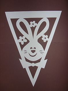 Ideas and Inspirations: DIY: Ostern für unterwegs * Easter for take away Scroll Saw Patterns Free, Arts And Crafts, Paper Crafts, Kirigami, Patches, Easter, Cards, Ikea Inspiration, Home Decor