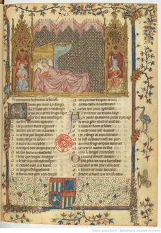 Roman de la rose 1301-1400 Bibliothèque nationale de France, Département des manuscrits, Français 1567 fol.1r