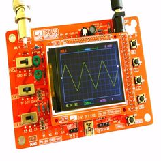 """(36.55$)  Watch now - http://aiqxr.worlditems.win/all/product.php?id=32682098693 - """"New DSO138 2.4"""""""" TFT Pocket-size Digital Oscilloscope Kit DIY Parts Handheld + Acrylic DIY Case Cover Shell for DSO138"""""""