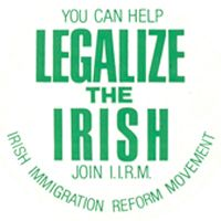 Listen to how a group of young immigrants lobbied Congress to legalized the so called illegal Irish aliens of the 1980s.