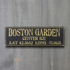 """Black with Gold Text 17"""" Wooden Sign"""