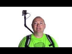 DIY Over the Shoulder GoPro Camera Rig - YouTube