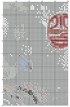 Gallery.ru / Фото #1 - ww - dafi123 Counted Cross Stitch Patterns, Diagram, Textiles, Crossstitch, Asia, Lady, Punto De Cruz, Cross Stitch Patterns, Cross Stitch