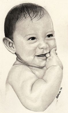 Custom Graphite Portrait Commission Slot by MeganERisk on Etsy, $100.00