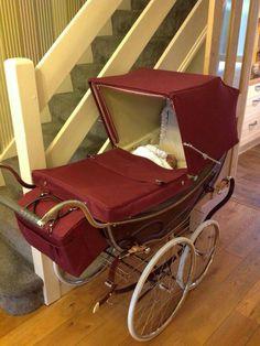Pram Stroller, Baby Strollers, Vintage Pram, Prams And Pushchairs, Baby Buggy, Dolls Prams, Baby Prams, Baby Carriage, Hair