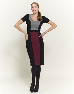 Colour Block Dress £55