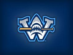Dribbble - Wilmington Sharks Cap Logo by Studio Simon