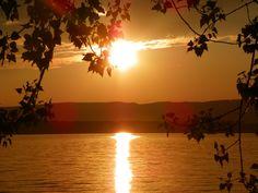 Sunset on Sacandaga Lake, NY
